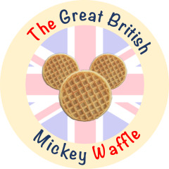 The Great British Mickey Waffle